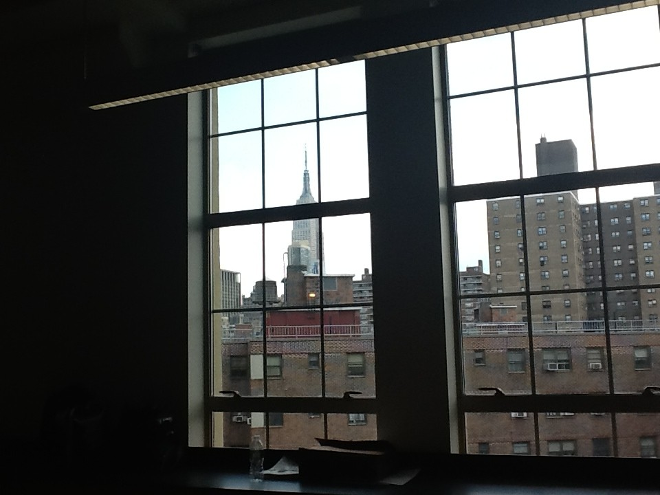 A view from a classroom