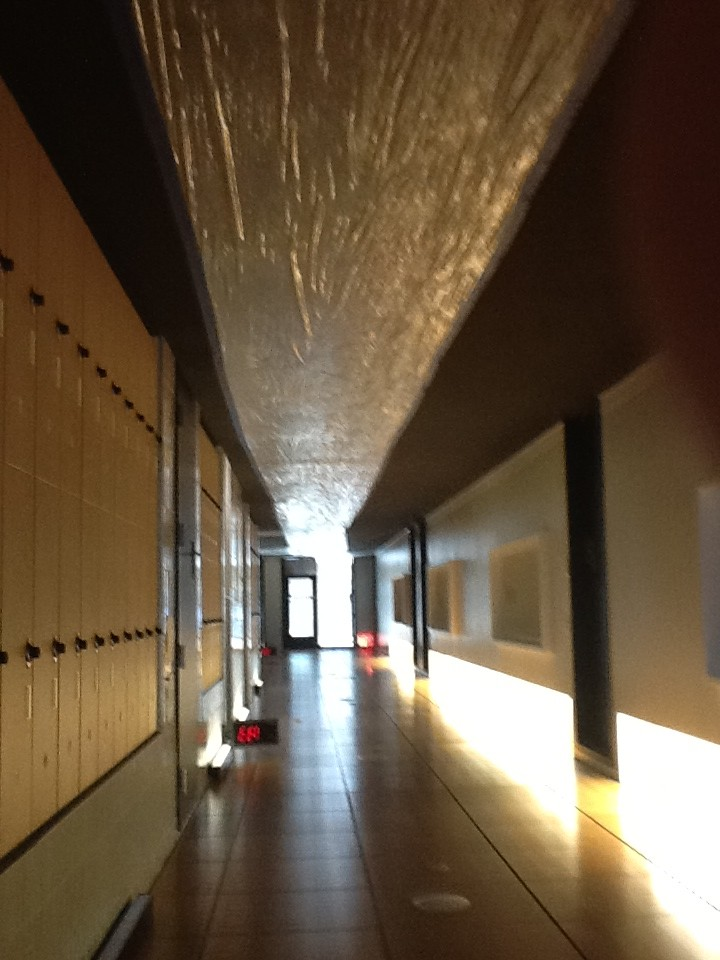 Light and space fill the halls