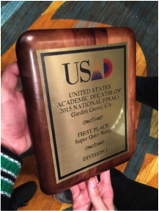 GranadaHills award